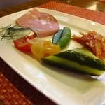 クチネッタ ユギーノ - 前菜