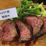 塊肉&クラフトビール BLOCKS - 葡萄牛ランプ牛(2種盛り2980円)