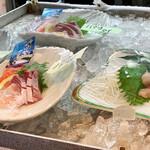 みのり家 - お刺身盛り 全て500円