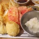 海鮮屋台 おくまん - 天ぷら7種