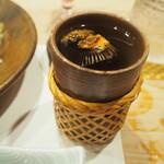 帆掛鮨 - ひれ酒