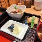 旬草 弥ひろ - 弥ひろ弁当 天ぷら お香物