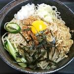食事の店 ふじの - 料理写真:納豆そば