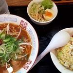 佐竹家 - 料理写真:やきめしセット 850円