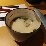 京都・烟河 - 茶碗蒸し