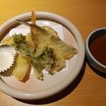 京都・烟河 - 天麩羅