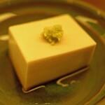 蕎麦 たじま - 胡麻寄せ豆腐
