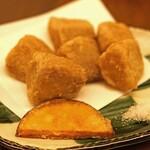 蕎麦 たじま - 里芋から揚げ