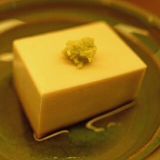 蕎麦 たじま - 料理写真:胡麻寄せ豆腐