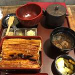 玉ゐ - 箱めし 中箱 合いのせ + お茶漬け