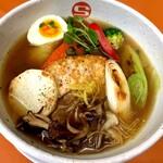 【しょうがスープ限定】豆腐ハンバーグと冬野菜