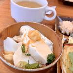 レストラン奥河内 - 豆腐