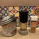 MAJI CURRY - 神福漬け(かみふくづけ)、香りのスパイス、味のスパイス