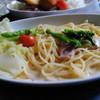 博物館明治村 - 料理写真:食堂の春のパスタ