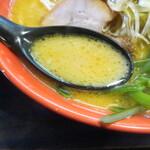 ラーメン道楽 - スープ