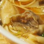 Japanese Ramen Noodle Lab Q - 清湯 全部トッピング(海老ワンタン)