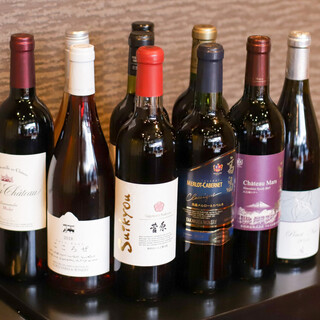 国産ワイン♪