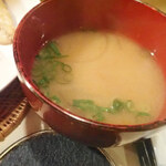 宿 かいふ - お味噌汁