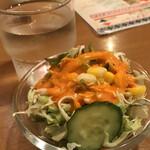 インドレストラン&バー サイノ - ランチサラダ