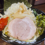 横浜家系ラーメン 町田商店 - ♦︎ネギラーメン ¥870