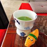 合格梅花堂 - ドリンク写真:「お接待」の梅抹茶
