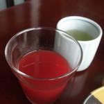 強羅天翠 - 野菜ジュース