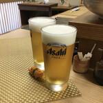 れん - 生ビールはアサヒ このキレッキレ感 生じゃないと絶対味わえない