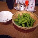 居酒屋田々 - 枝豆(250円)