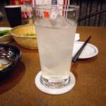 居酒屋田々 - レモンサワー(350円)