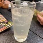 すしざんまい - 生レモンサワー