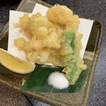 すしざんまい - 白子天ぷら