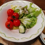 カフェ・イン・ザ・パーク - 野菜も新鮮で美味o(^o^)o