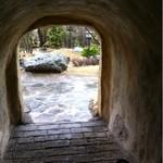 ナインブラウン シェ・タニ - このトンネルを通ると外へ
