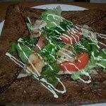 So - カジキマグロとトマトのマヨネーズサラダガレット