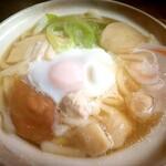 銀なべ食堂 - 料理写真:なべ焼きうどん