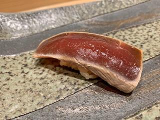 寿司割烹 魚紋 - 本鮪の漬け