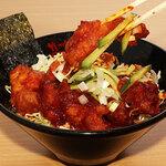 ガーリックモンスター - チキンからし焼き丼