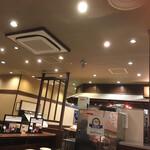 丸亀製麺 - 今日の店内風景 左手方向