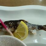 寿恵広食堂 - あまごの塩焼き