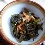 寿恵広食堂 - 山菜の和え物