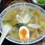 居酒屋けん - 料理写真:けんラーメン(塩ラーメン)650円