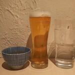 手打蕎麦 あすなろ - ◆蕎麦茶・生ビール(キリン一番搾り・お水)◆♪