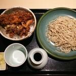 126306707 - ◆平日限定 お昼御膳◆♪                         小天丼・お蕎麦・薬味(ネギ・大根おろし)♪