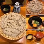 もみじ茶屋 - 納豆ざるそば 930円(税抜)
