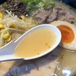 みよし家 - 優しくクッキリなスープ(池袋東武「大鹿児島展」)