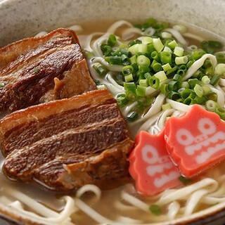 名物★沖縄そば★沖縄本島のソバの名店使用の麺!