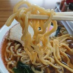 126315276 - モチモチの縮れ太麺