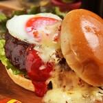 ニクヤ バーガーズ - 和牛煮込みハンバーガーセット