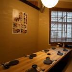 全席個室 居酒屋 九州料理 かこみ庵 - 8名様個室(掘りごたつ式)