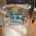 126325623 - 餃子と生ビール!